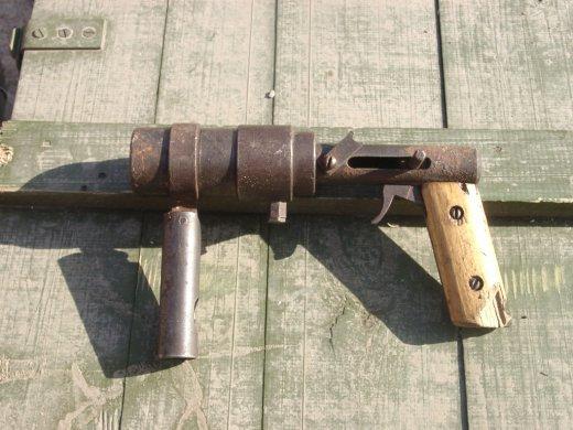 Çeçenlerden el yapımı silahlar