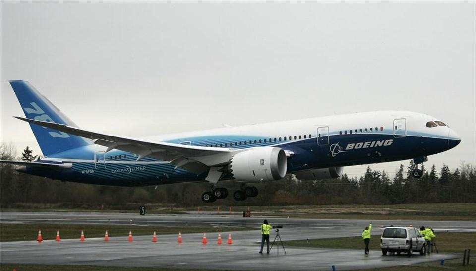 Çevreci Boeing uçtu