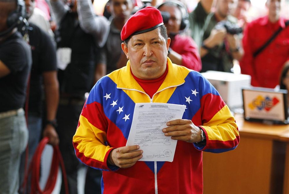 Chavez yeniden aday