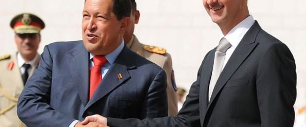 Chavez'den Esad'a destek mesajı