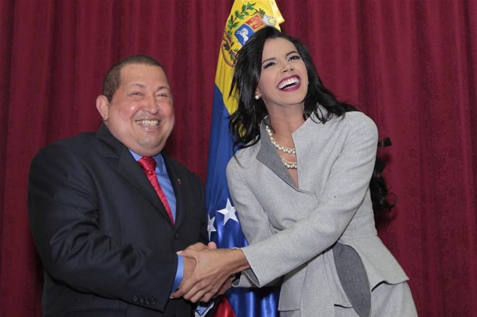 Chavez'e güzel misafir