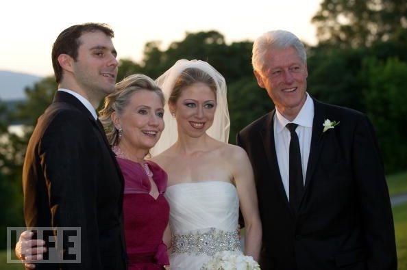 Chelsea Clinton evlendi