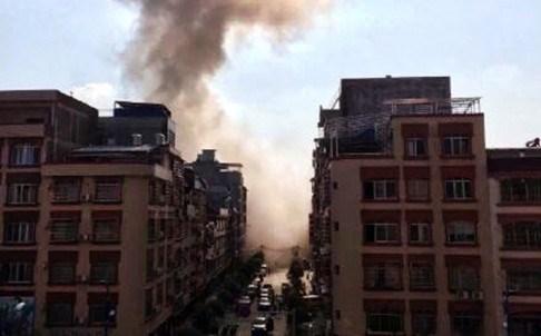 Xinhua ayrıca Liucheng ilçesinden başka Liuzhou'da da bir patlamanın olduğunu duyururken, ölen ya da yaralananlara ilişkin bir bilgi ise vermedi.