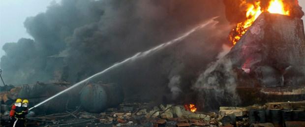 Çin'de boya fabrikasında patlama: 2 ölü