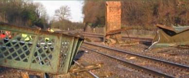 Çin'de demiryolu inşaatı çöktü: 9 ölü