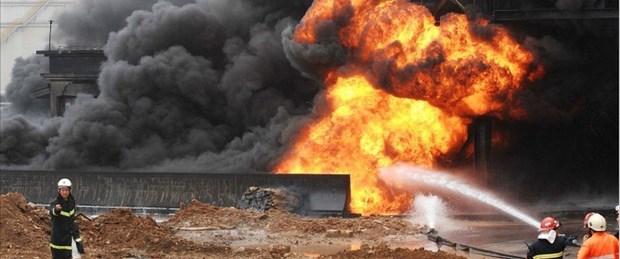 çin doğalgaz patlama
