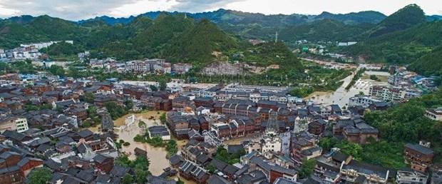 Çin de sel felaketi