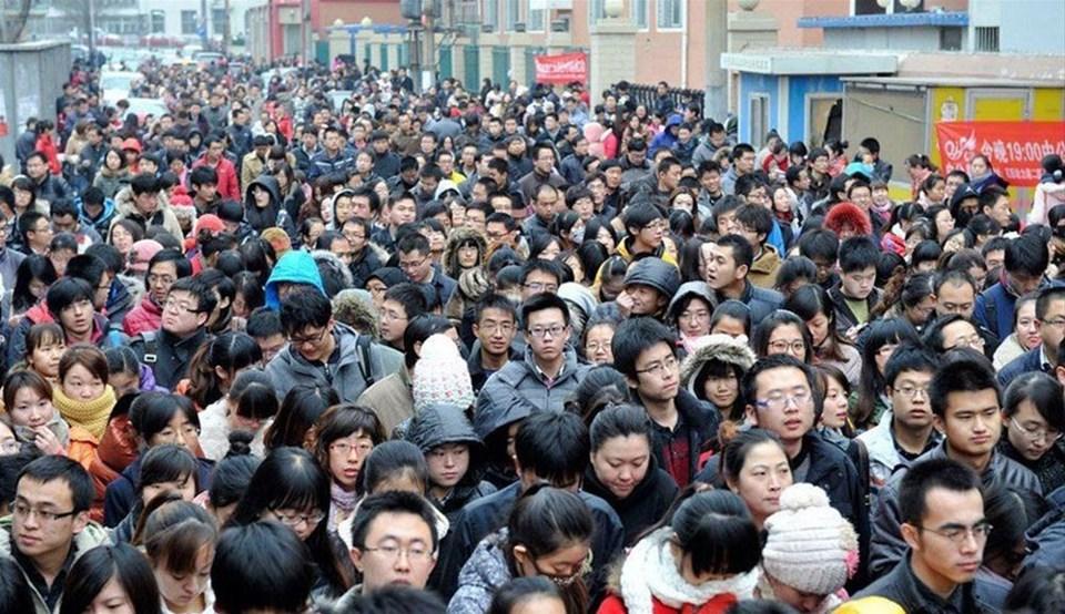 Çin'de sınav heyecanı