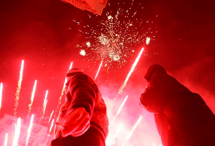 Çin'de 'yeni yıl' kutlaması