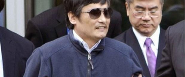 Çinli aktivist ABD yolunda