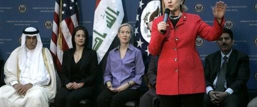 Clinton'dan Iraklılara güvenlik sözü