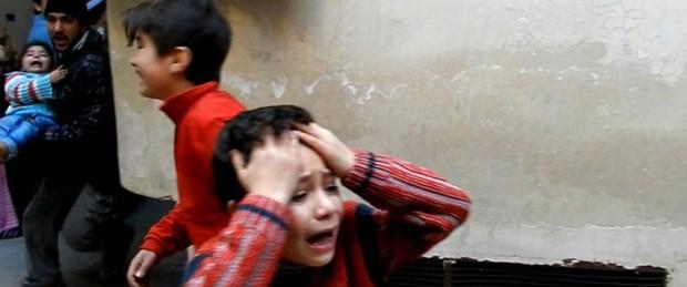 'Çocuklar canlı kalkan yapılıyor'