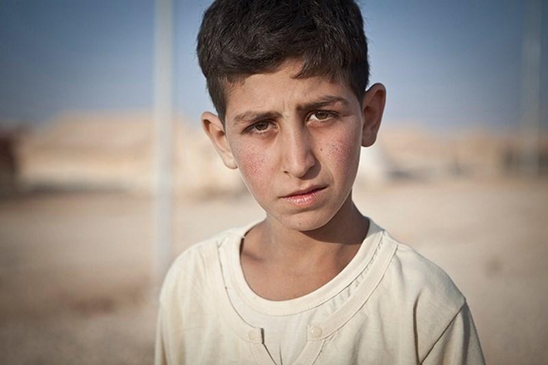 Çocuklar savaşın korkunç yüzünü anlattı
