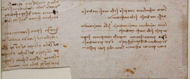 Da Vinci'nin şifreli metni 150 yıl sonra bulundu