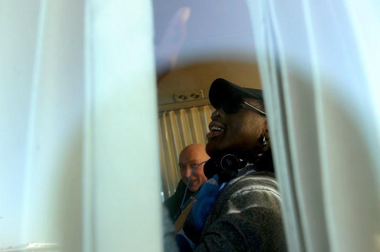 Dennis Rodman Kim'in doğumgününde