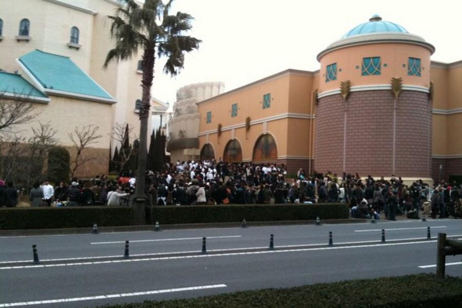 Twitter'da paylaşılan Tokyo Disneyland'e ait karelerden biri daha.