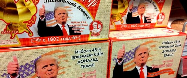 Rusya'dan özel Trump şekeri