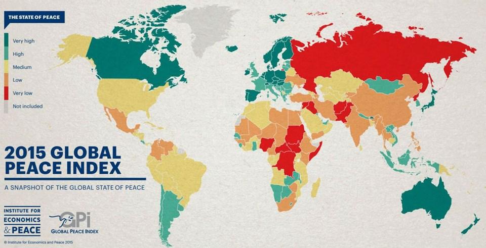 Dünyada çatışmanın yaşanmadığı 10 ülke