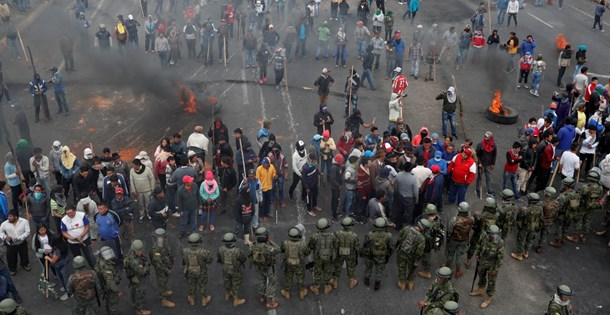 Ekvador'da hükümet ve protestocular anlaştı