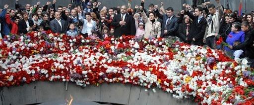 Ermeniler yürüdü büyükelçi izledi