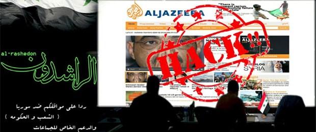 Esad yandaşları El-Cezire'yi hackledi