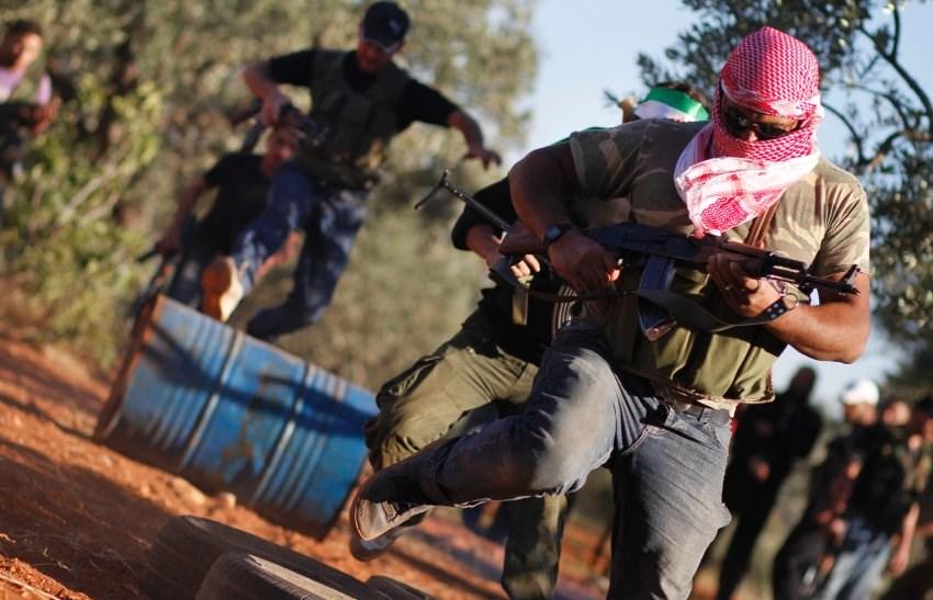 Esad'a karşı ateş çemberi