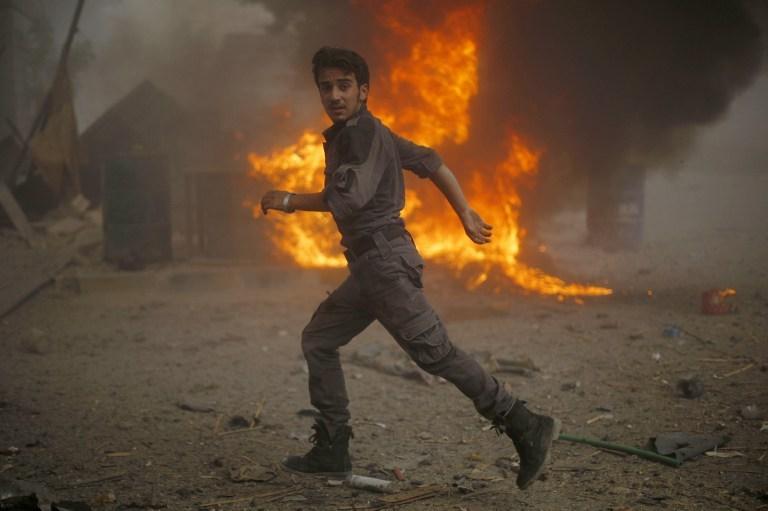 Esad havadan bombaladı: 80 ölü