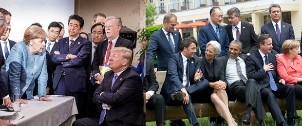 g7 karşılaştırma obama trump