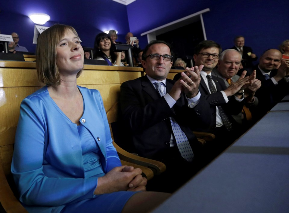 Estonya'nın ilk kadın cumhurbaşkanı