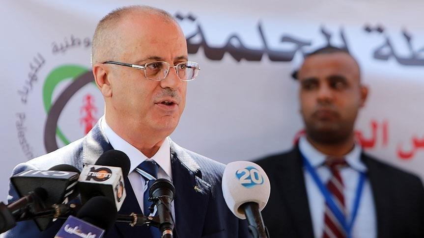 Filistin Başbakanı Hamdallah Gazze'yi ziyaret etti.