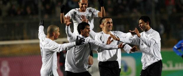 Filistin'de tarihi bir maç