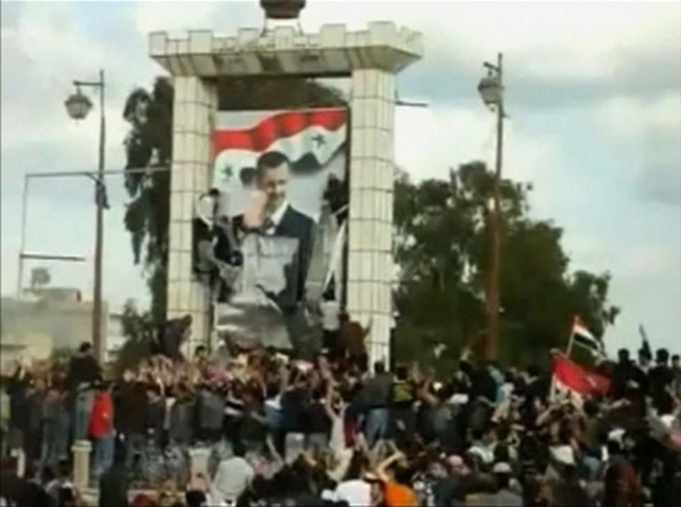 Esad'ın fotoğrafının indirilmesi