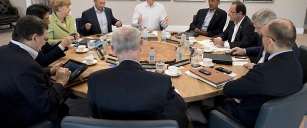 G-8 zirvesi sonuçlandı