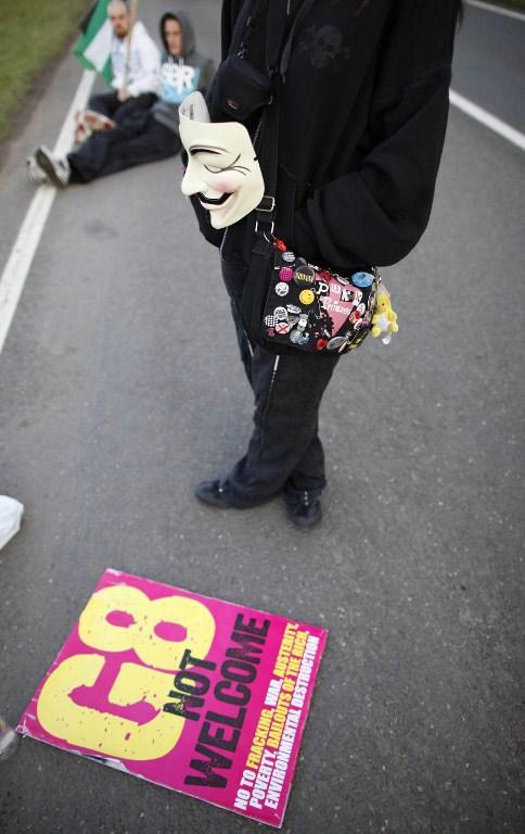 G8'e yürüyüş