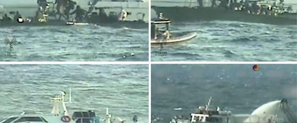 Gazze gemilerine İsrail müdahalesi