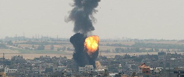 Gazze yine ateş altında