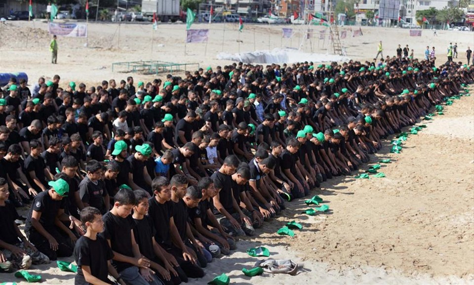 Gazze'de sembolik silah