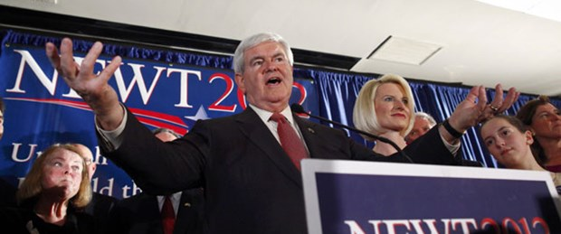 Gingrich yarışı kızıştırdı