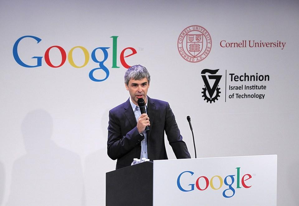 Alphabet Yönetim Kurulu Başkanı ve Google kurucusu Larry Page