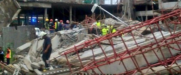 Güney Afrika'da AVM çöktü: 2 ölü