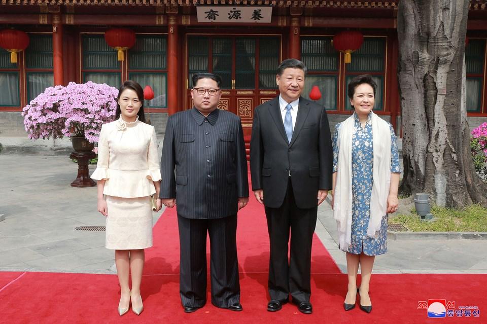 Kuzey Kore lideri Kim Jong-un, geçtiğimiz günlerde eşi ile birlikte Çin'e sürpriz bir ziyaret yapmıştı.