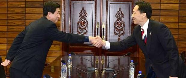 Güney ve Kuzey Kore görüşmelere başladı