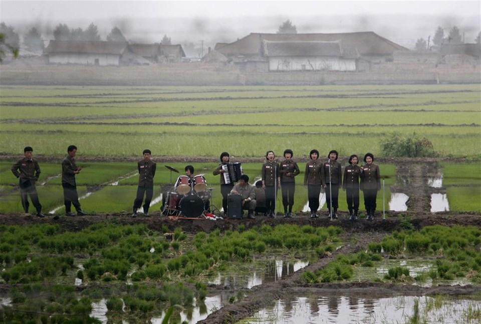 Çiftçilere konser