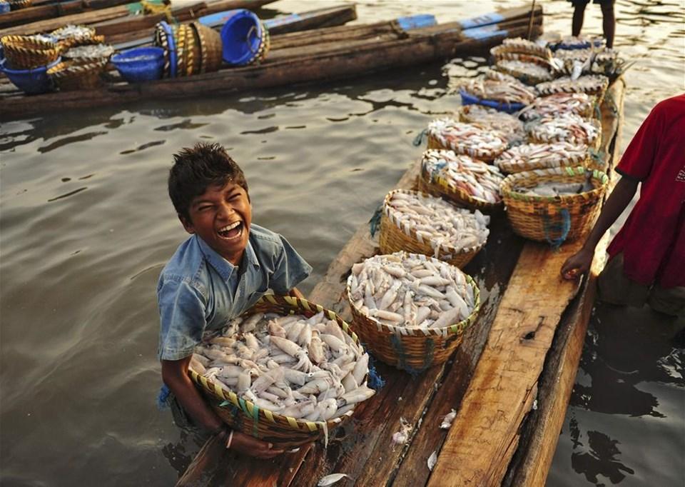 Minik balıkçı