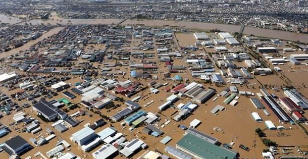 Hagibis tayfunu Japonya'da 2 milyar lira zarara yol açtı