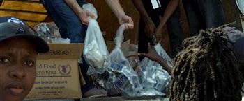 Haiti gıda yardımı bekliyor