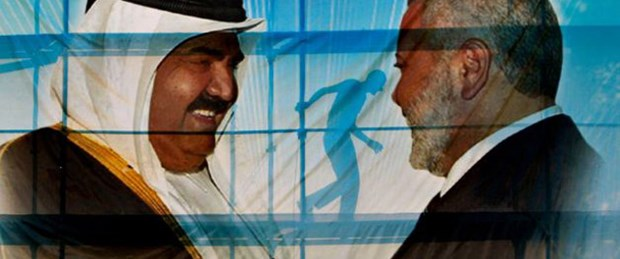 Hamas'tan Katar Emiri'ne muhteşem karşılama