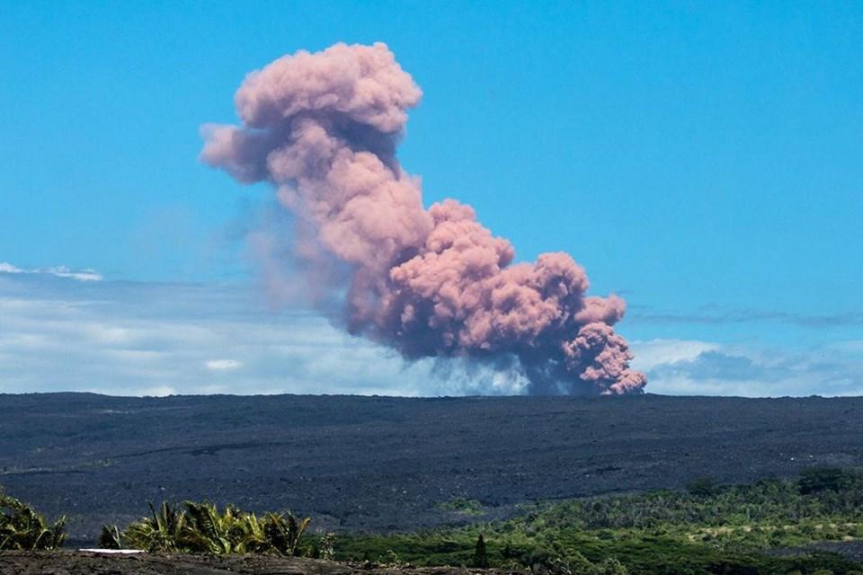 Hawaii'de yanardağ faaliyete geçti ile ilgili görsel sonucu
