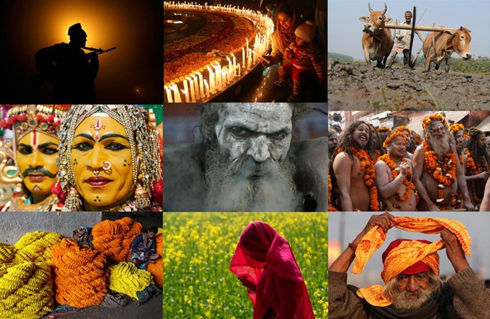 Hindistan'ın 1001 rengi