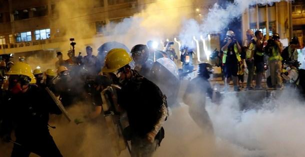 Çine karşı gösteriler ile ilgili görsel sonucu
